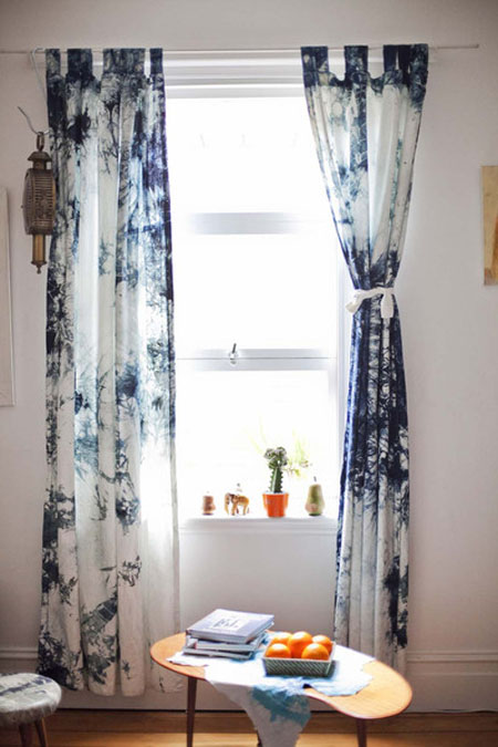 Cotton Curtains Curtains Hand Indigo Curtains Indigo