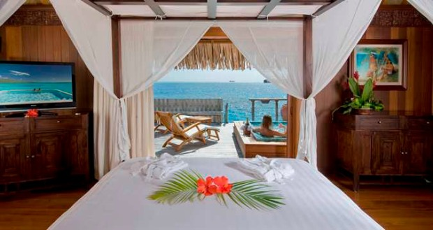 Royal Overwater Villa,  Bedroom