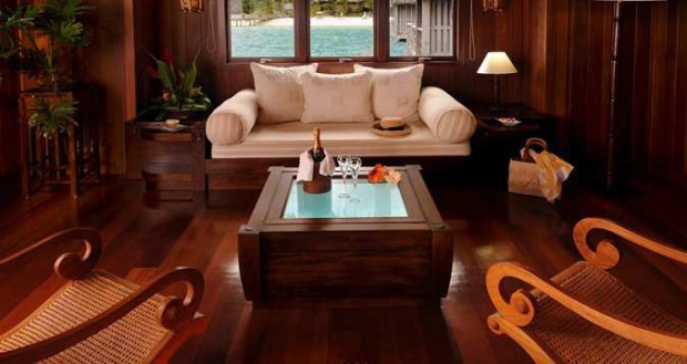 Royal Overwater Villa,  Living Room