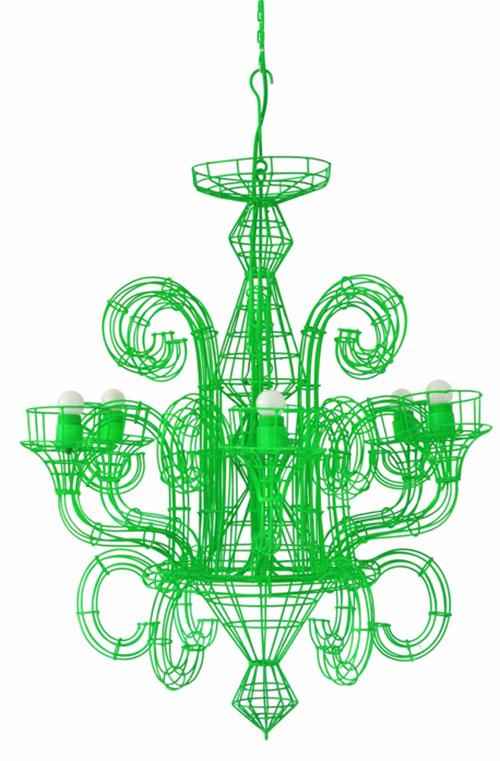 Franny fluro wire chandelier hermit homewares giacollection06 franny fluro wire chandelier aloadofball Image collections